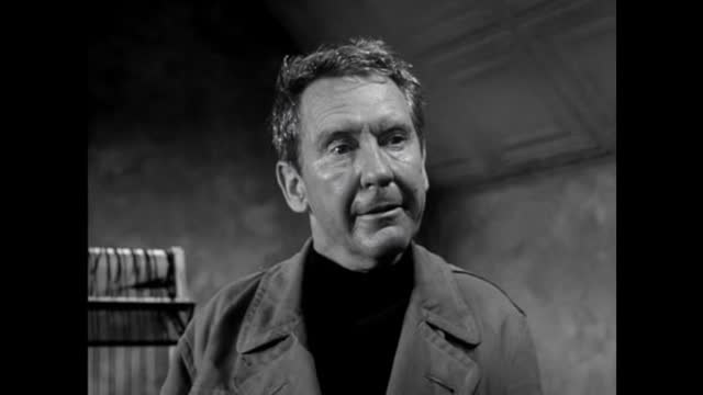 "The Naked City -""Hold For Gloria Christmas"" Burgess Meredith"