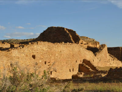 A Desert Drive to Chaco Canyon