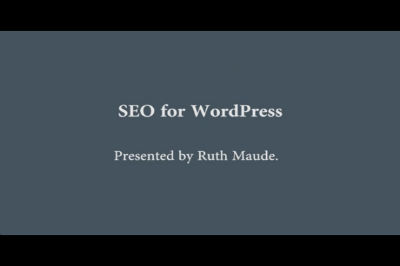 WC Toronto 2011 – SEO for WordPress