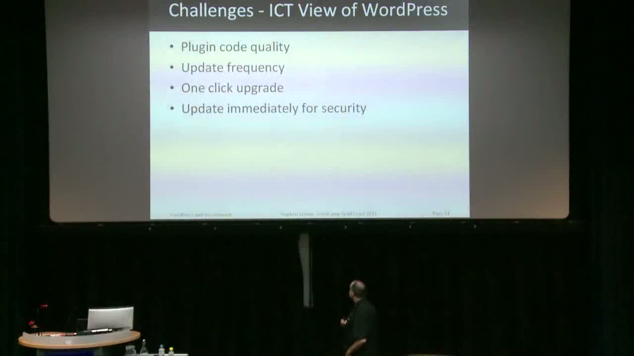 Stephen Cronin: WordPress In Government