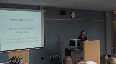 Mari Kane: WordPress in 10 Steps