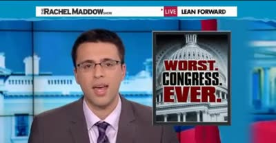 TRMS EZRA KLEIN The 112th Congress Is the Worst in History and Has Done Harm to the Country!