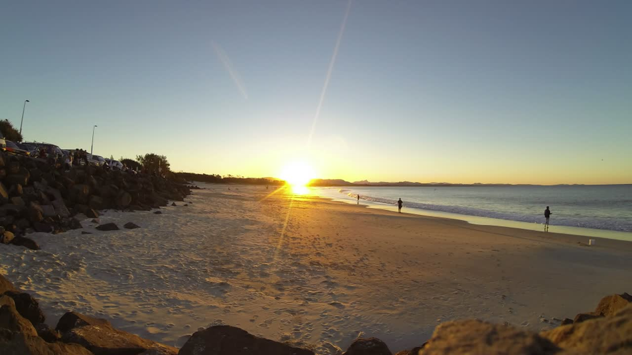 Byron Bay Sunset Timelapse