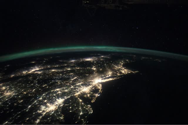 The Bright Lights of the Big City from Space