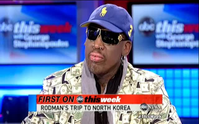 Dennis Rodman in N Korea