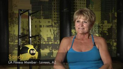 LA Fitness-member-Sandy's-story