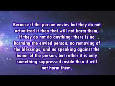 Repentance from Envy – Shaykh Abdul-Azeez Bin Baz