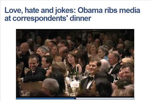Prez Obama Ribs Whitehouse Press