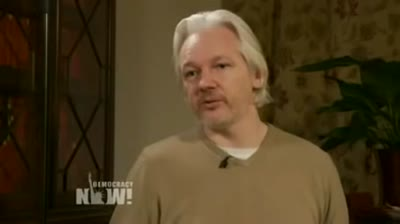 Exclusive_ DN! Goes Inside Assange's Embassy Refuge to Talk WikiLeaks, Snowden and Winning Freedom