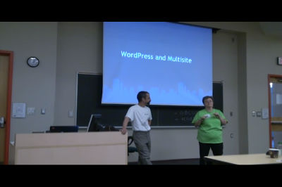 WC Toronto 2011 &#8211; WordPress Multisite