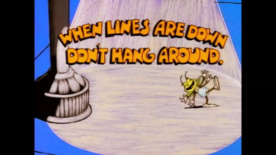 """Louie """"Downed Lines CFL"""""""