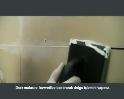 DERZ DOLGU UYGULAMASI mp4