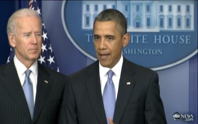 Obama hails cliff deal
