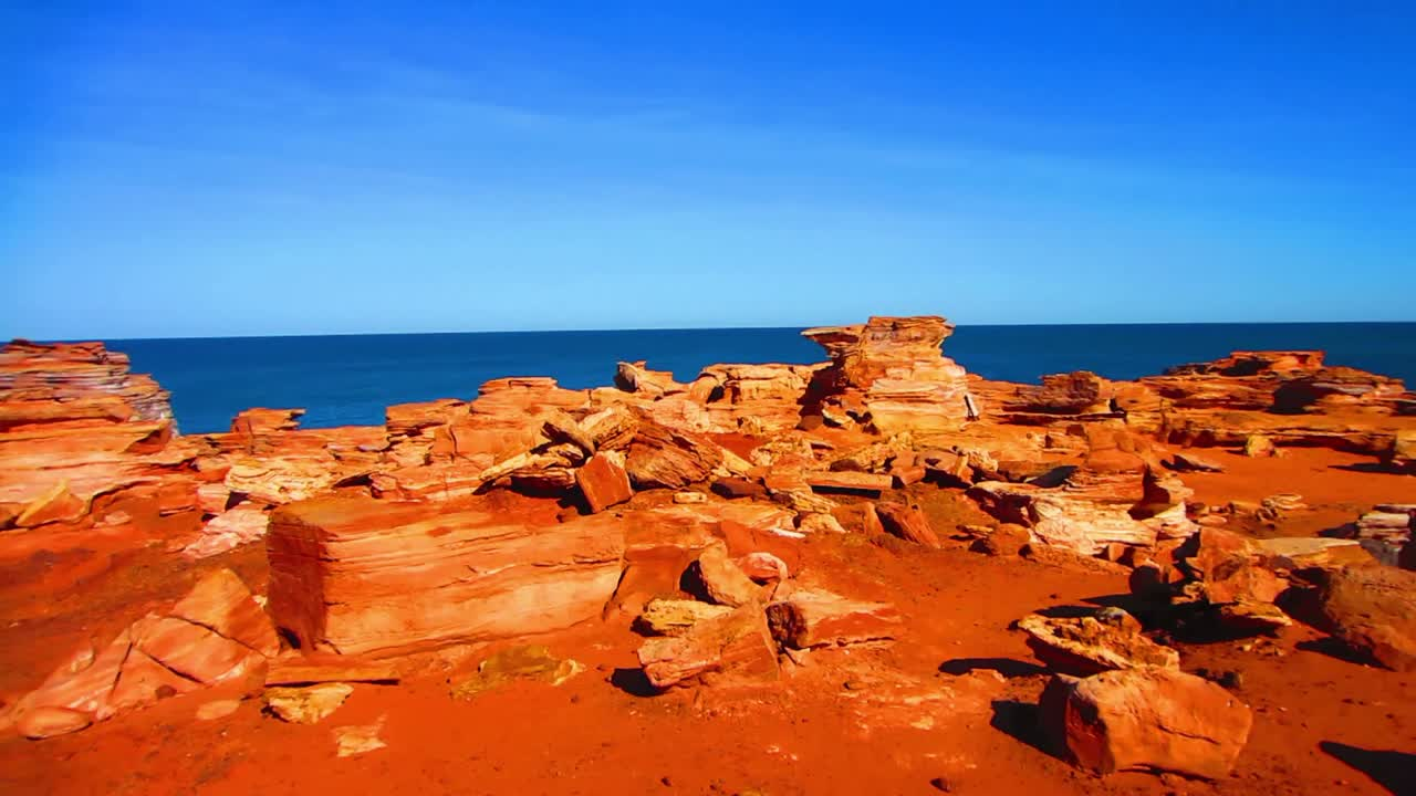 View from Gantheaume Point in Broome