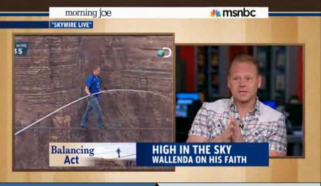 NIK WALLENDA WALKS WITH GOD