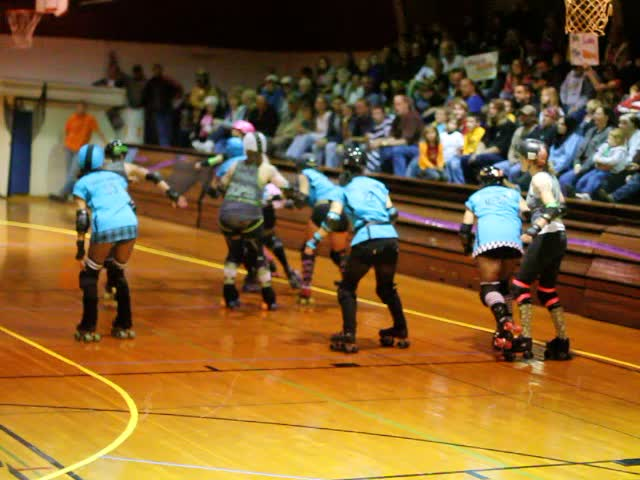 Roller Derby in Rolfe, Iowa — Oct. 29, 2011