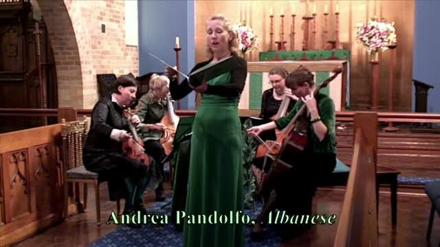 """Andrea Pandolfo, arr. Brooke Green, """"Albanese"""""""