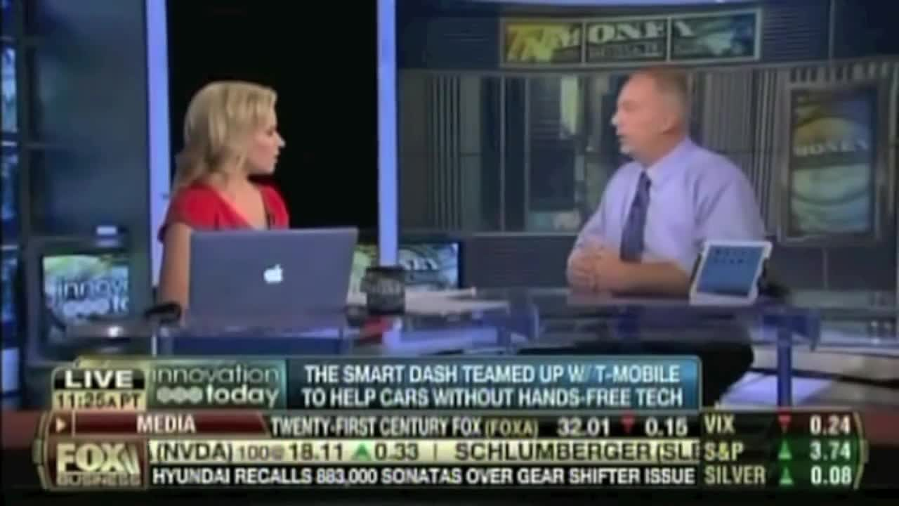 The Smart Dash on The FOX Business Network – Innovation Today Feature on Money With Melissa Francis – 7.30.14