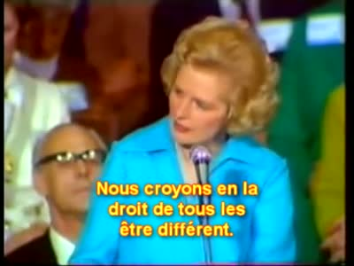 Margaret Thatcher -une societe libre?
