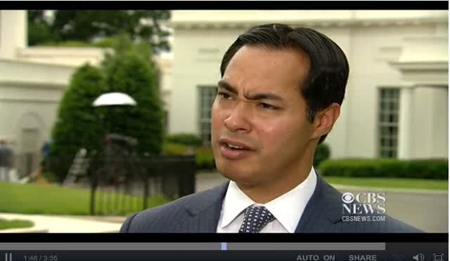 JULIAN CASTRO TO McCONNELL – GET SERIOUS