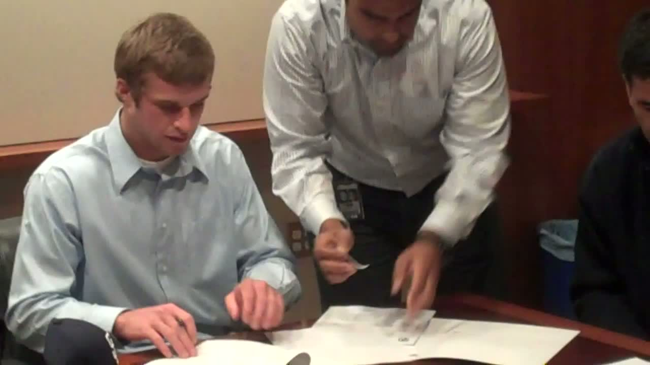 Spangenberg Signing