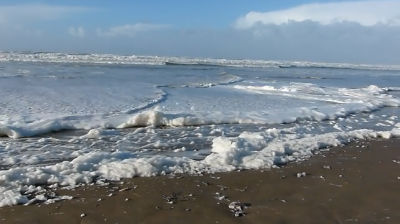 Sea Foam on the Beach (1)