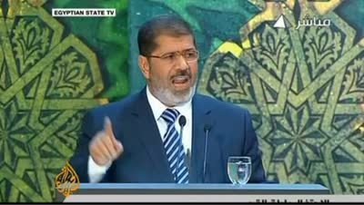 EGYPTIAN PRESIDENT ASSERTS POWER 08-13-12