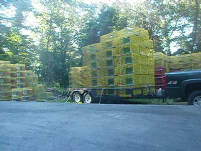 stacking the trailer