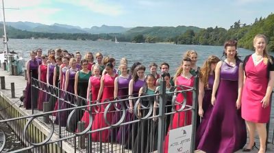 Amabile Choir at Low Wood Bay
