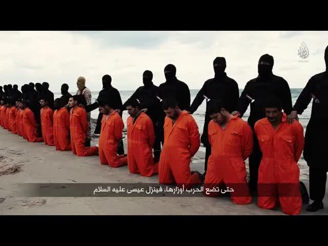 El Estado Islámico difundió la decapitación de 21 rehenes egipcios en Libia | Estado Islámico, Libia, Abdel Fatah Al Sisi_640x480_MP4