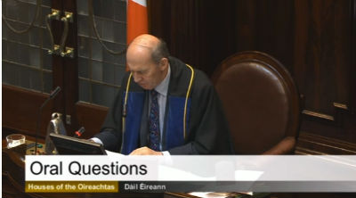 TDs didn't bother to show up for questions they asked of Minister