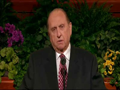 Thomas S. Monson Gives Prophetic Blessing &#8211; 2010 April Conference