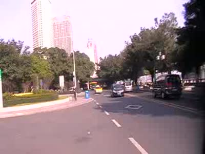 Exploring Haizhu Sq. In Guangzhou , China . Jan