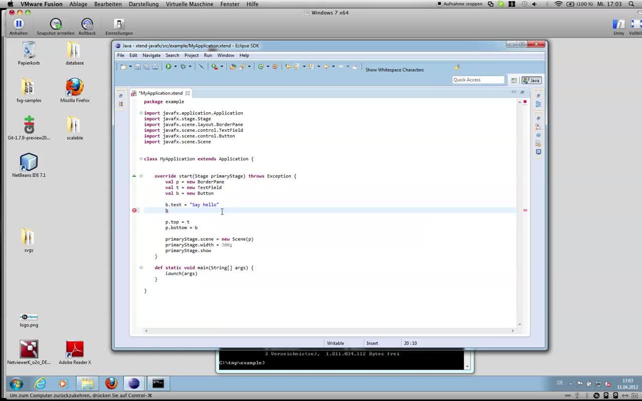 Bildschirmaufnahme 3