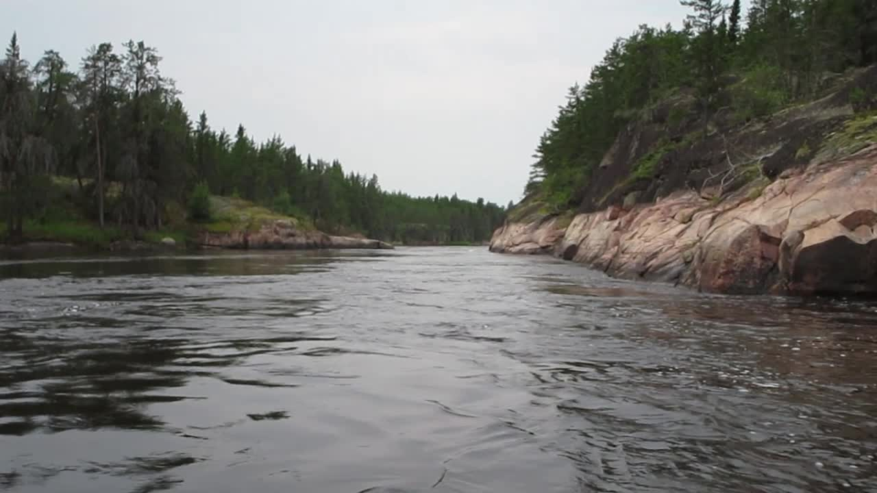 Going through the Gorge Rapids (W56)