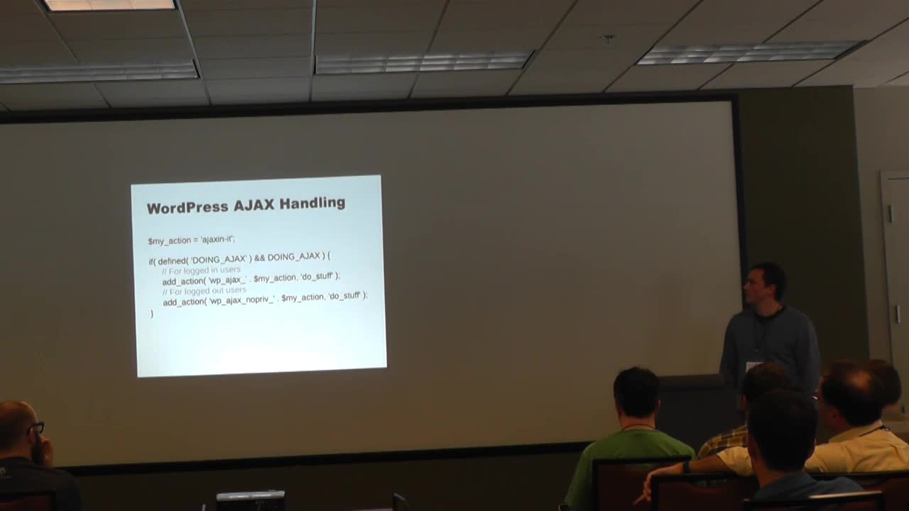 Micah Wood: Doing AJAX in WordPress