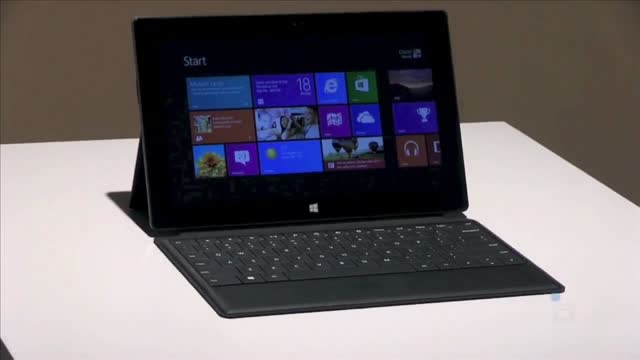 The new windows 8 tablet