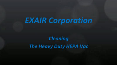 Heavy Duty HEPA Vac Cleaning