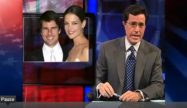 STEPHEN COLBERT REVEALS TOM KAT SAGA