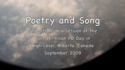 POETRY AND SONG (H LEVEL)