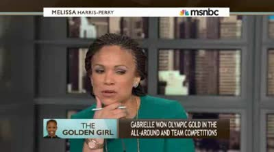 Melissa Harris-Perry  Gymnast Gabrielle Douglas on her historic Olympic victory