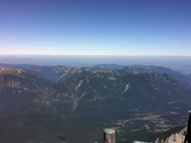 Zugspitze – View of Germany