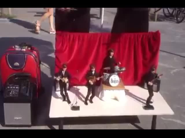 A Beatles Puppet Concert Performance