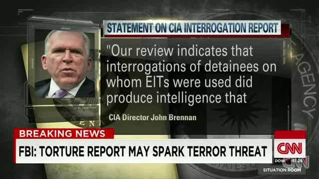 FBI- CIA torture report may spark terror threat