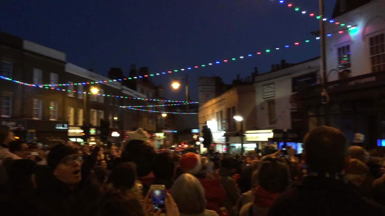 Blackheath Christmas Lights Switch-On