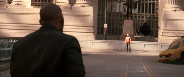 Steadicam Shot from I Am Legend