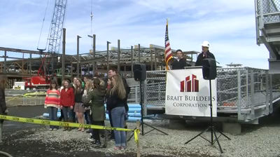 New MHS Topping Off Ceremony