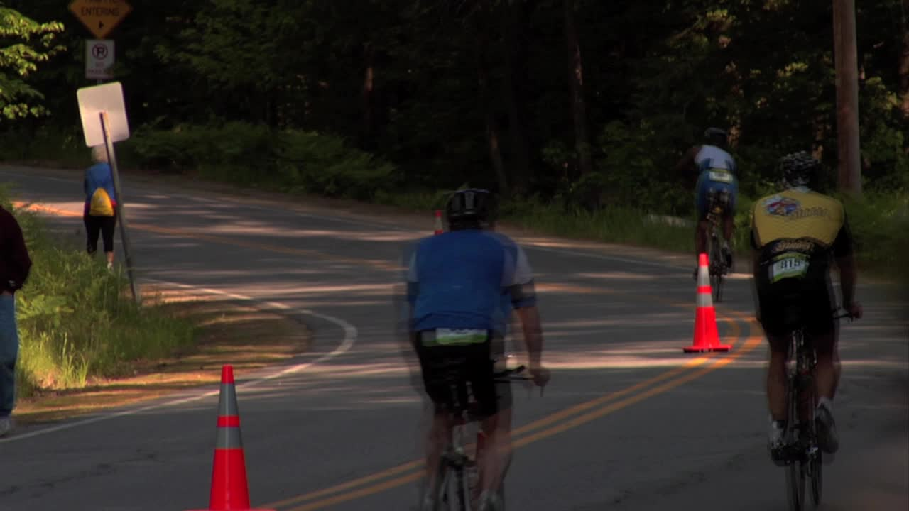 Ironman Mooseman 70.3 Bike Course Montage (2011)