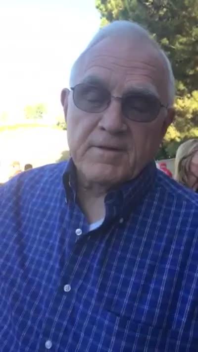 Video of Bob Hodel 48 sec Sep 4 2014