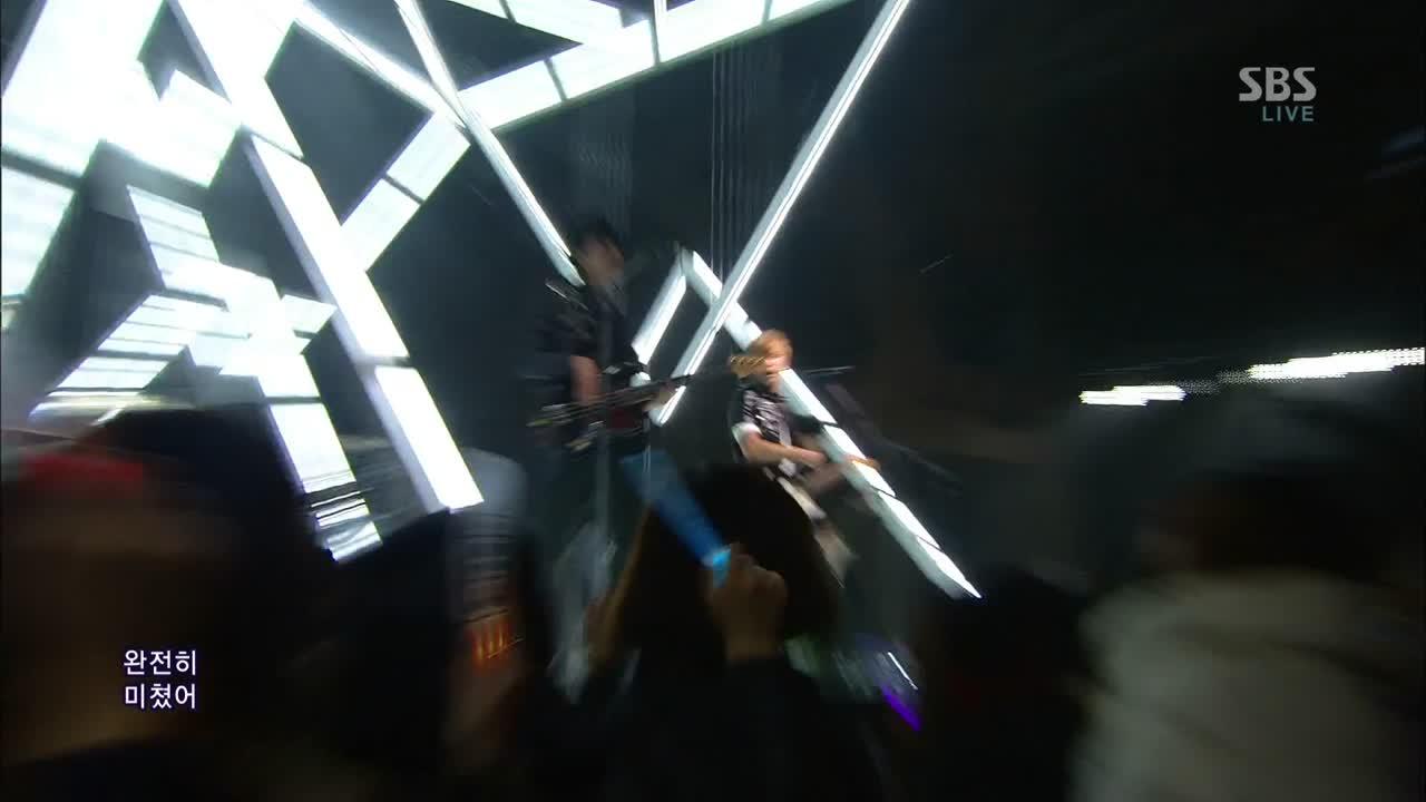 """""""I'm sorry"""" 2012.01.20 SBS 인기가요 Inkigayo  작곡 정용화 한승훈 Music by Jung Yong Hwa, Han Seung Hun 작사 정용화 한성호 Lyrics by Jung Yong Hwa, Han Sung Ho"""